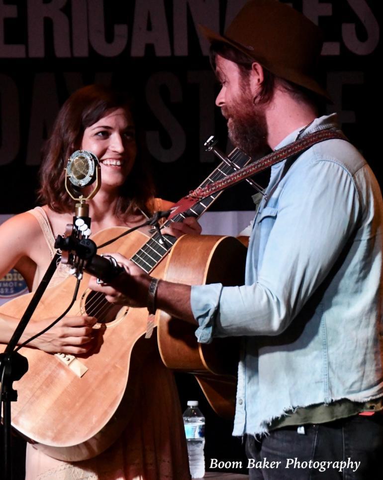 Joe Purdy and Amber Rubarth at Americana 2018