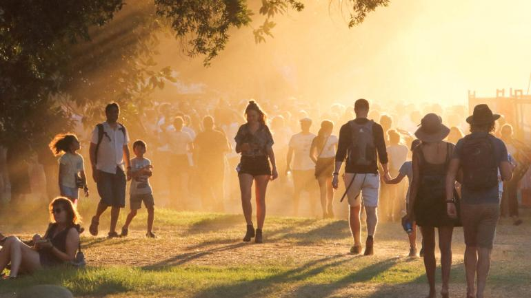 Dusk at WOMADelaide, 2018
