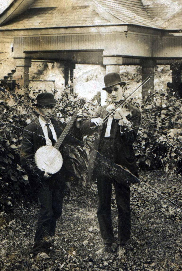 Ed Haley and Johnny Hager (1920)