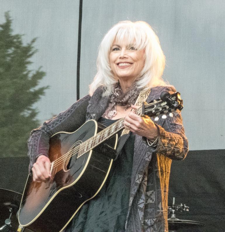 Emmylou Harris, Marymoor Park (Redmond WA) 6/8/17