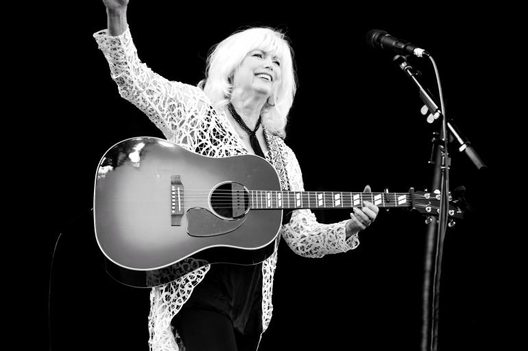 Emmylou Harris at the 2017 Nelsonville Music Festival