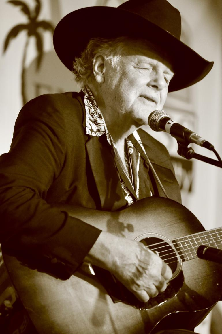 Peter Rowan at Gamble Rogers Festival 2018 in St. Augustine, FL