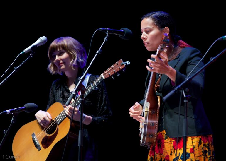 Molly Tuttle and Rhiannon Giddens