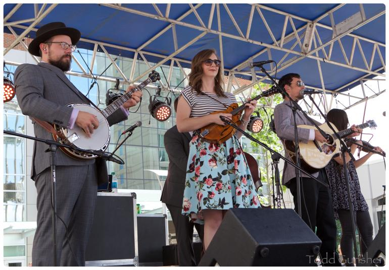 Flat Lonesome on the City Plaza Stage 10/1/2016