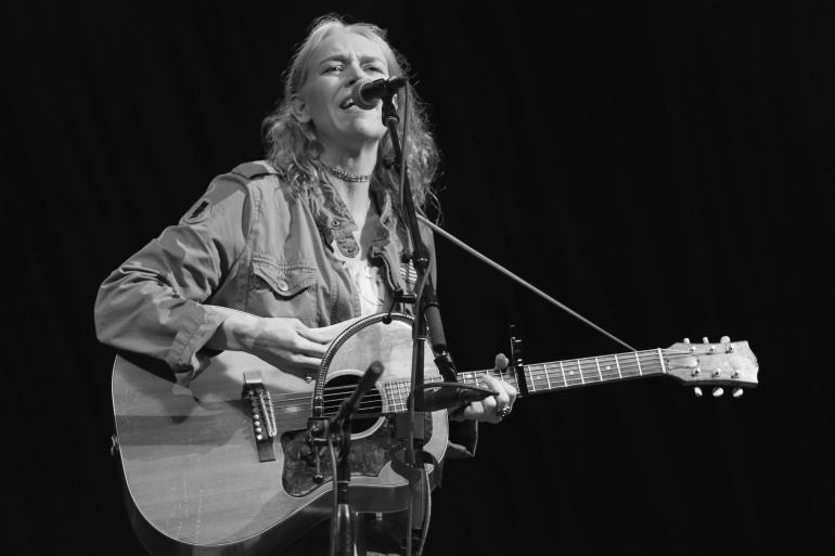 Gillian Welch at the Nelsonville Music Festival 2016