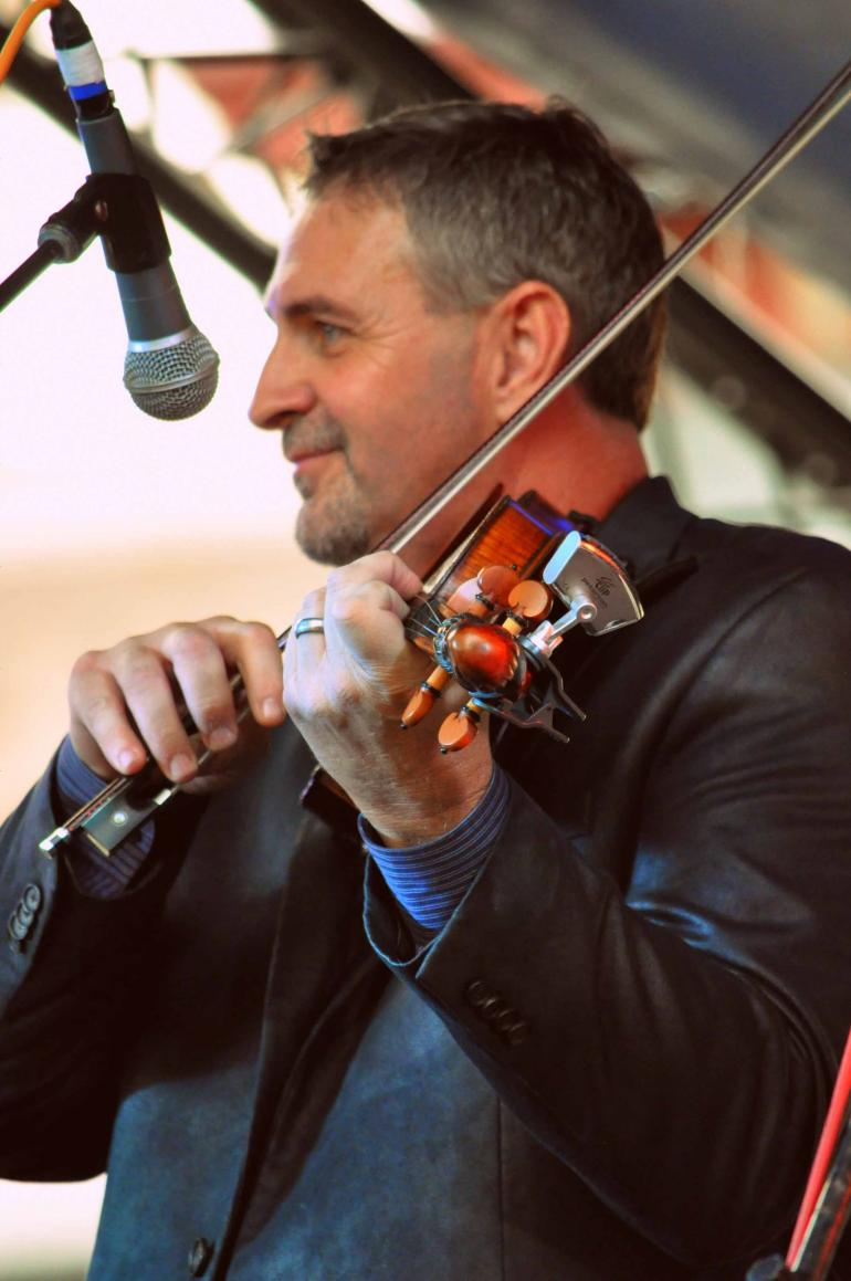 Glen Harrell of Volume Five at IBMA Wide Open Bluegrass 2016