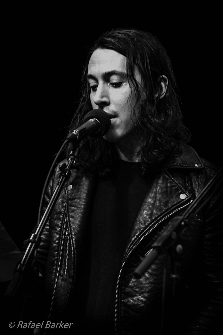 Noah Gundersen performs on Mountain Stage in December 2015