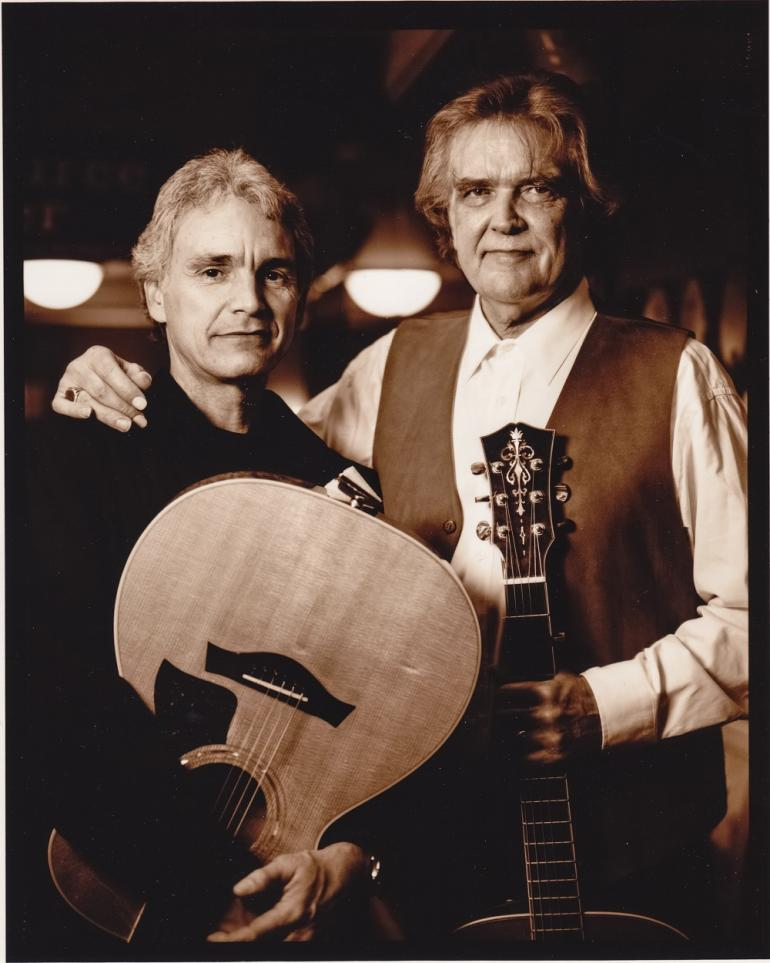 Guy Clark and Verlon Thompson