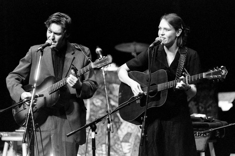 Gillian Welch and David Rawlings on Mountain Stage 1995