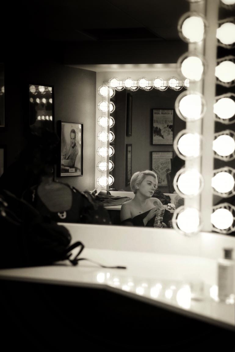 Lydia Loveless, backstage at the Ryman Auditorium 10.14.17