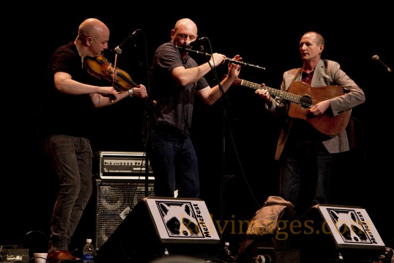 Trio of Michael McGoldrick, John McCusker and John Doyle were outstanding at Merlefest