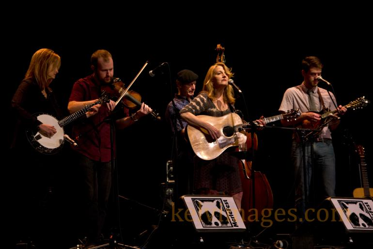 Three-time winner of the IBMA's Female Vocalist of the year, Claire Lynch, wowed Merlefest