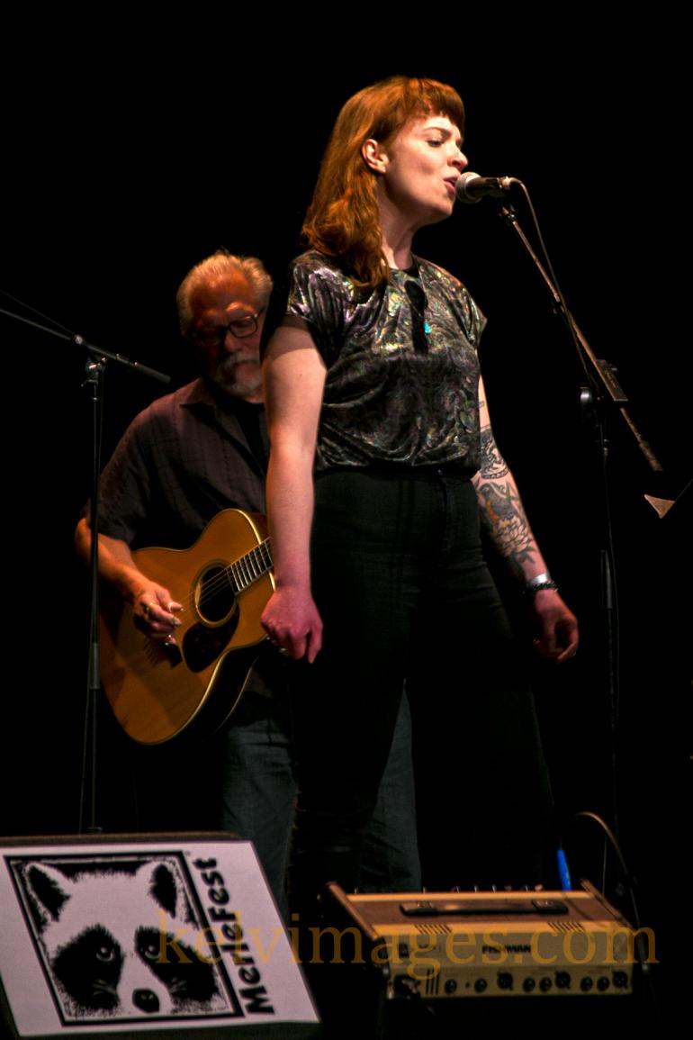 Docabilly guests Jorma Kaukonen and the  impressive  Megan Nash at the Walker Center.