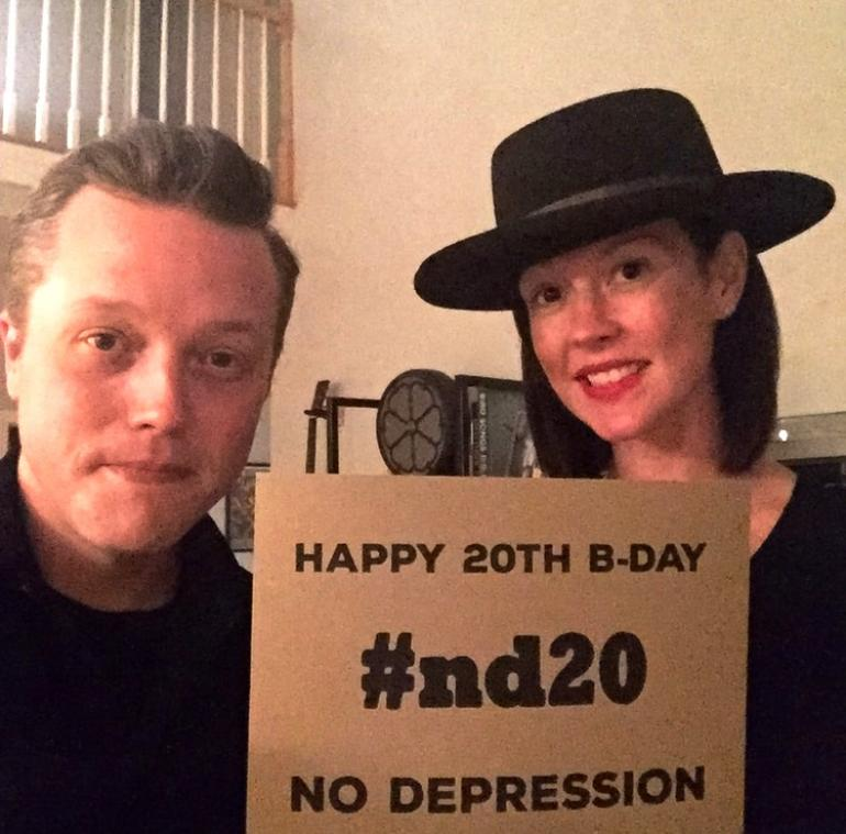 Jason Isbell and Amanda Shires wish ND a Happy Birthday