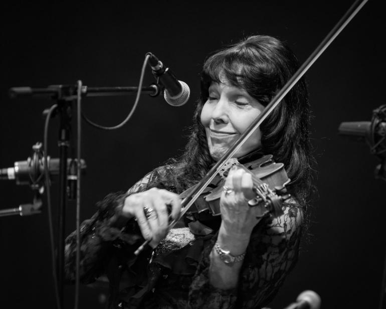 Jana Jae At The National Fiddler Hall of Fame Induction Ceremony
