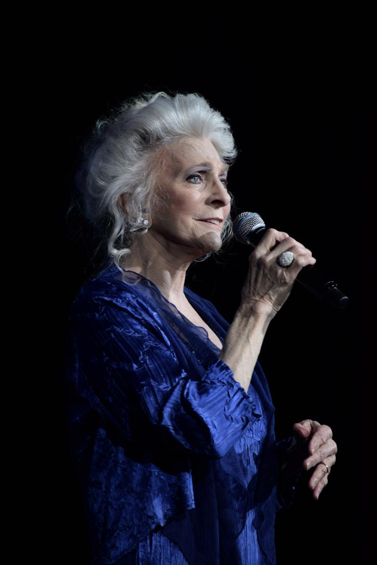 Judy Collins at Folk Alliance 2016. Kansas City, MO