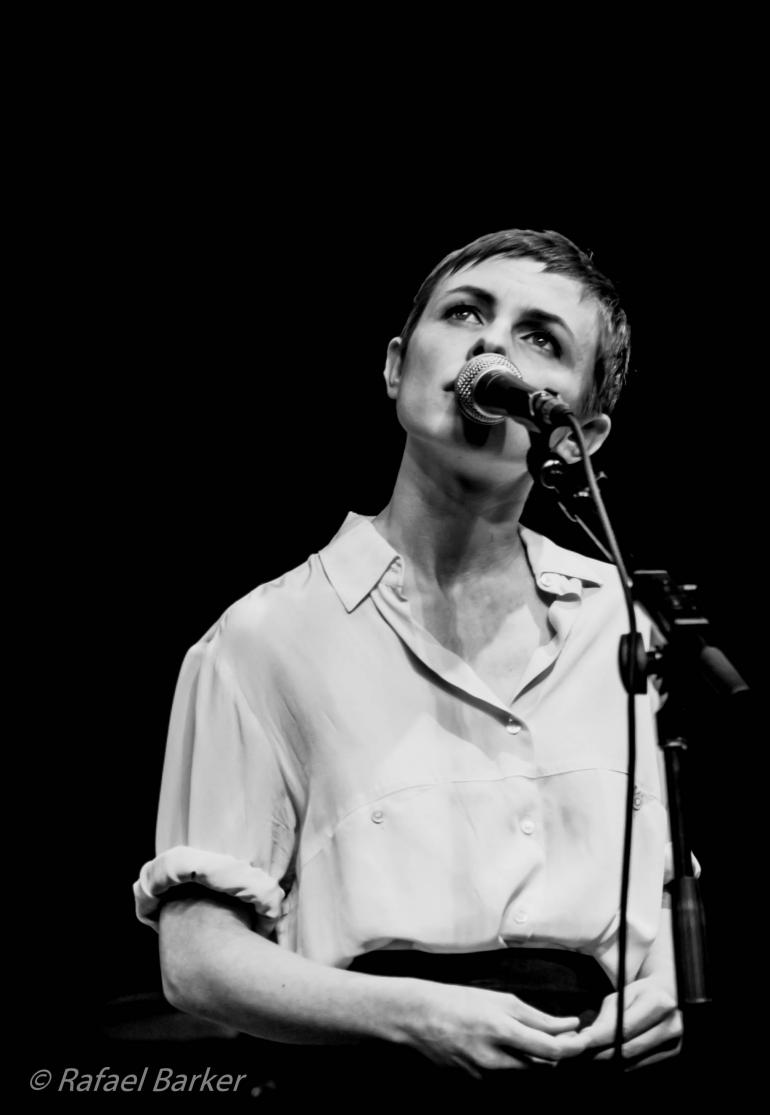 Kat Edmonson performs on Mountain Stage in October of 2014