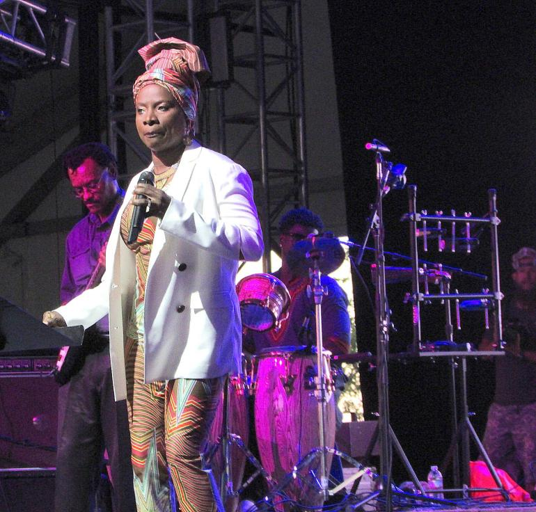 Angelique Kidjo's Remain in Light at Bonnaroo 2017