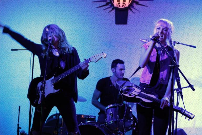 Larkin Poe at Third Man Records' Blue Room