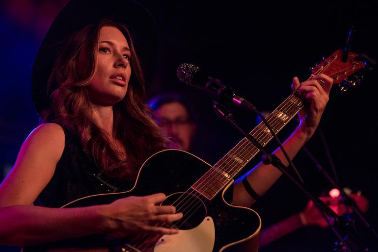 Lera Lynn at Americana Music Festival, Nashville, 2015