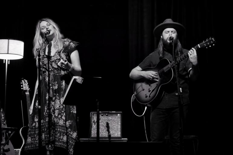 Elizabeth Cook and Caleb Caudle at the Kent Stage, Kent, Ohio 5.17.18