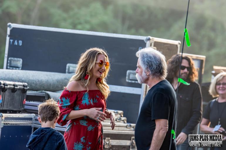 Margo Price w/ Bob Weir at Lockn 2017