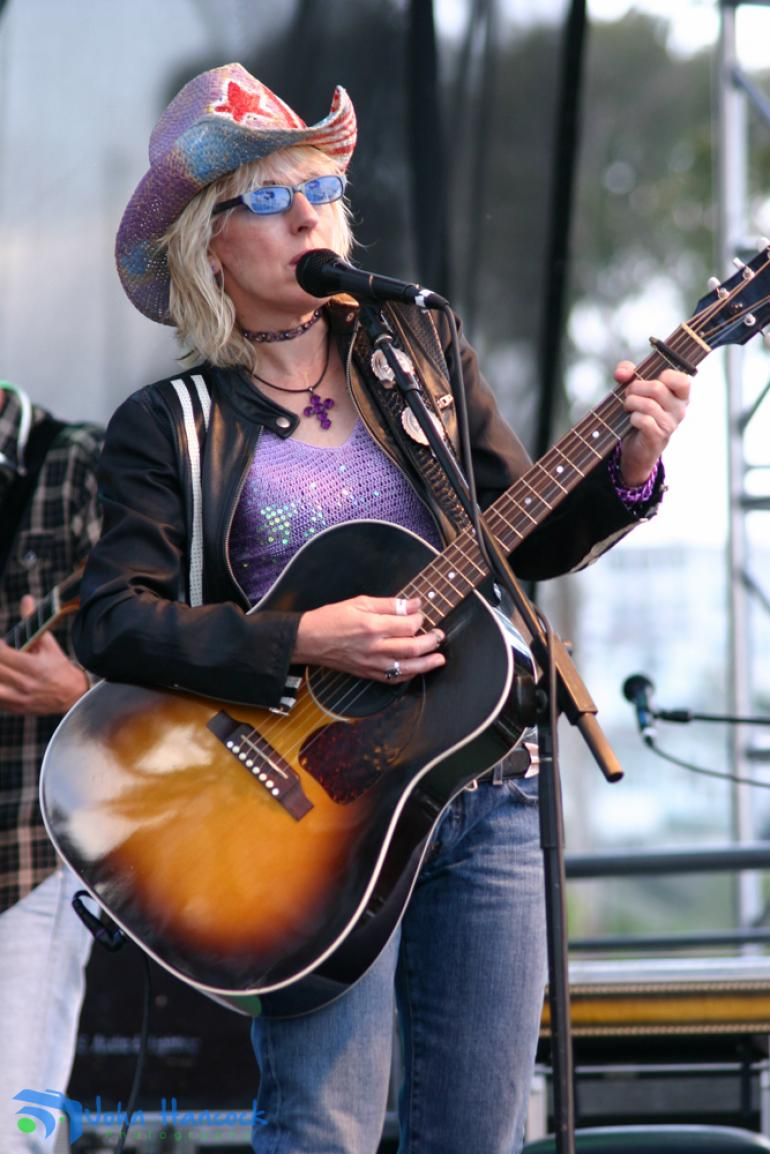 Lucinda Williams performs at Doheny Blues Fest 2014