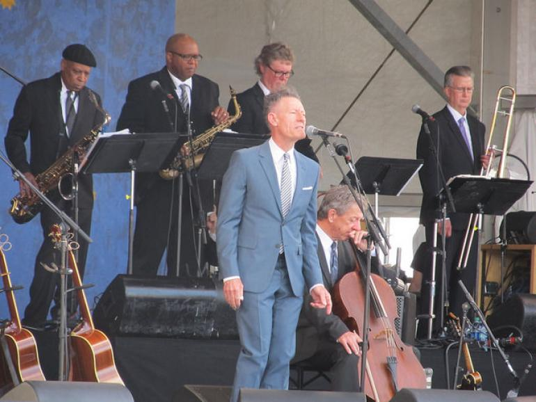 Lyle Lovett at the 2018 New Orleans Jazz & Heritage Festival