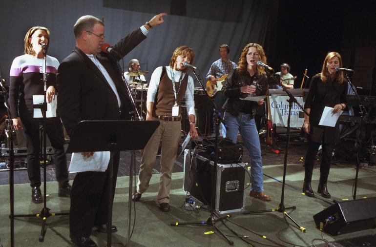 Rehearsal, Larry Groce, Kathy Mattea, Stacey Earle, Allison Moorer, Carrie Newcomer, 2000
