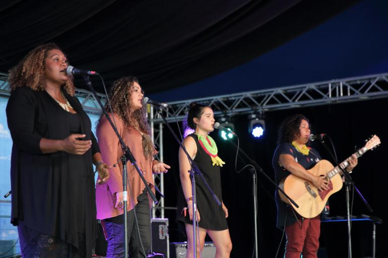 Mission Songs Project at Blue Mountains Music Festival, on March 17th 2018