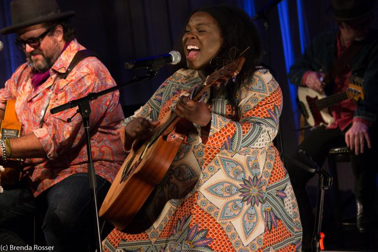 Yola Carter performs at Americanafest