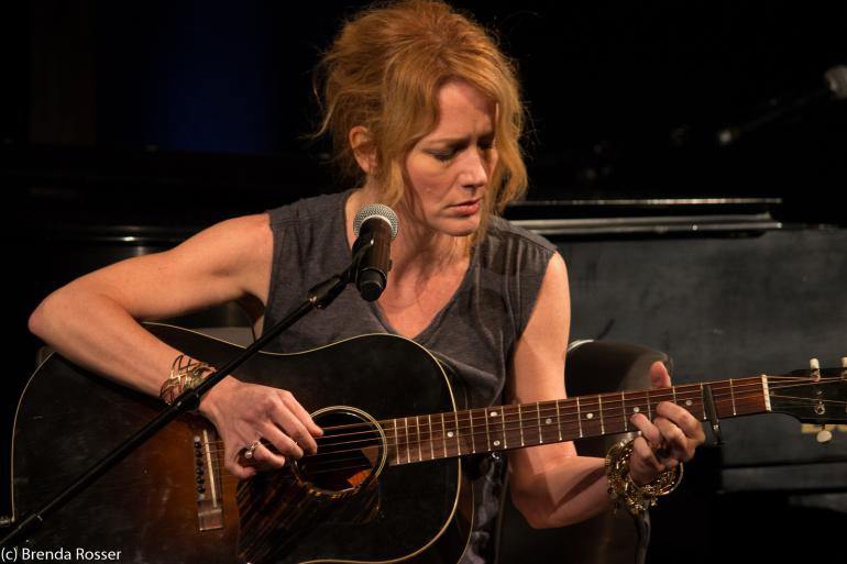 Allison Moorer performs at Americanafest 2017