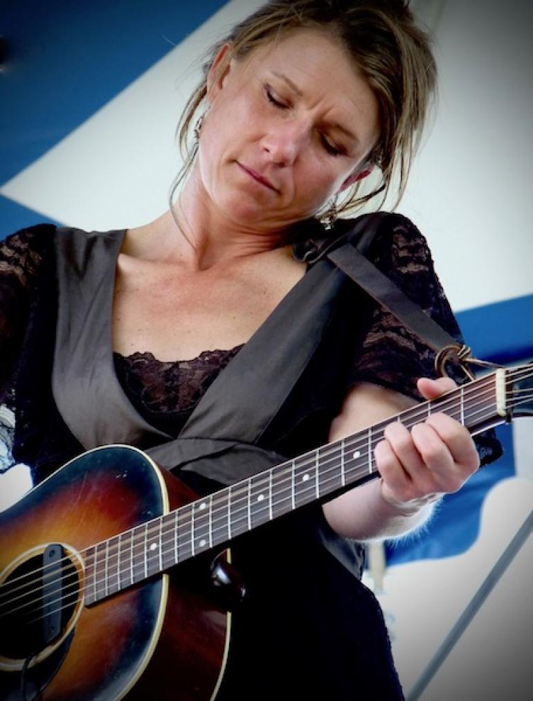 Martha Scanlan at MerleFest 2009