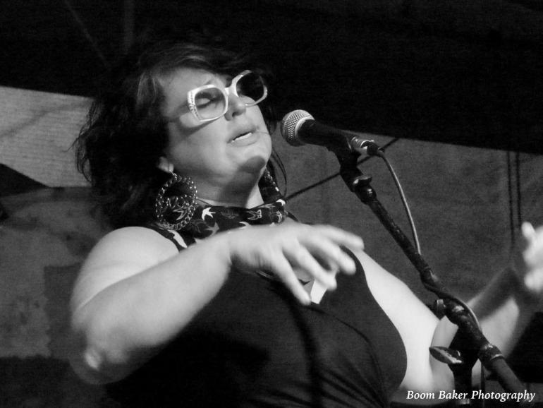 Sarah Potenza at the Cottonwood in Houston Texas.