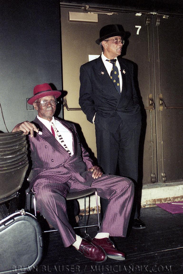 Pinetop Perkins and Hubert Sumlin