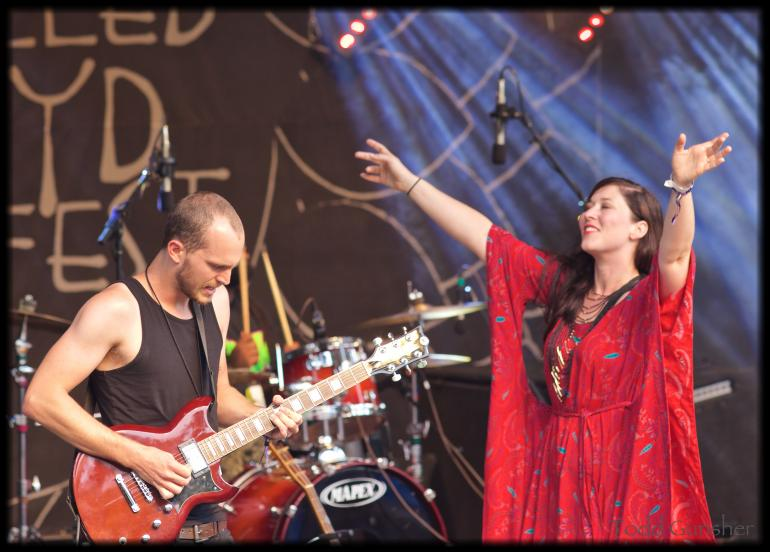 Rebekah Todd and The Odyssey at Floydfest