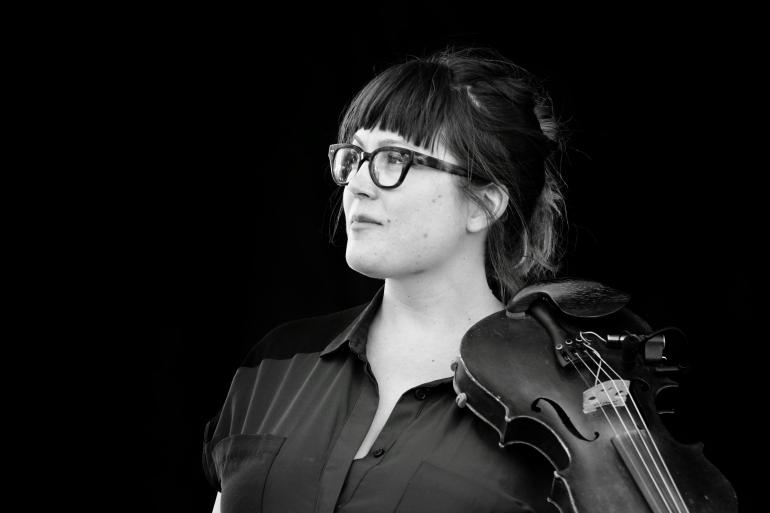 Sara Watkins at the 2017 Nelsonville Music Festival