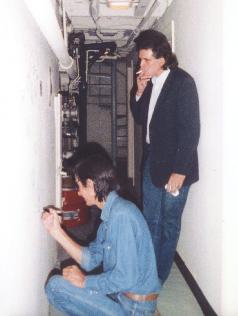 Townes Van Zandt and Guy Clark, Capitol Plaza Theatre Basement, Mountain Stage 1987