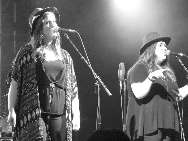 The Secret Sisters at Bonnaroo Music and Arts Festival Bluegrass Superjam- 6/12/2016