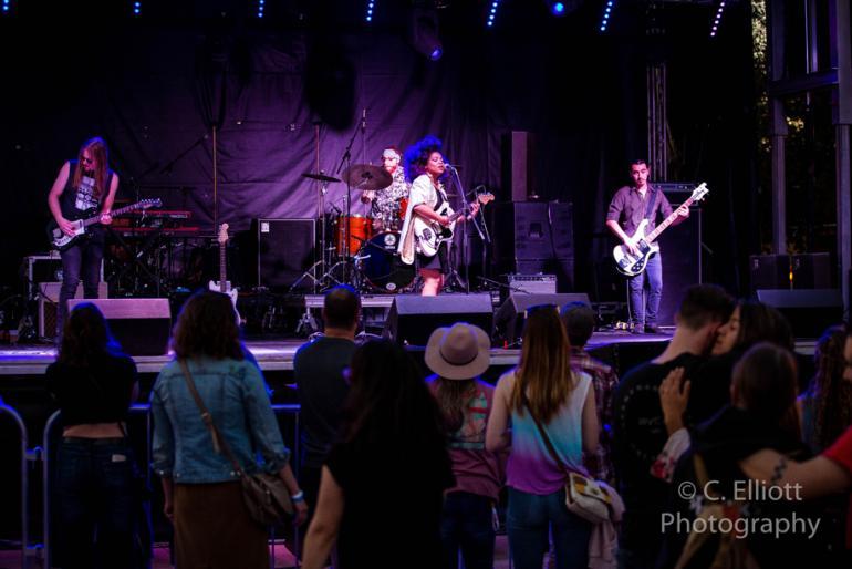 Seratones @ McDowell Mountain Music Festival