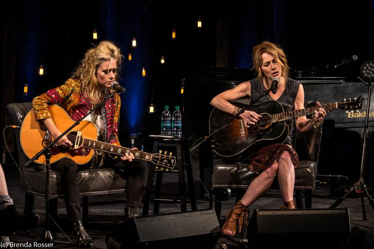Shelby Lynne and Allison Moorer at CMHOF, Americanafest 2017