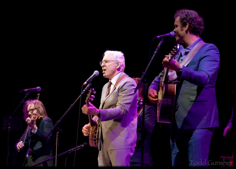 Steve Martin w/The Steep Canyon Rangers
