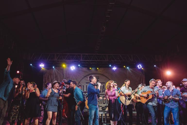 The 2014 Bonnaroo Bluegrass Superjam
