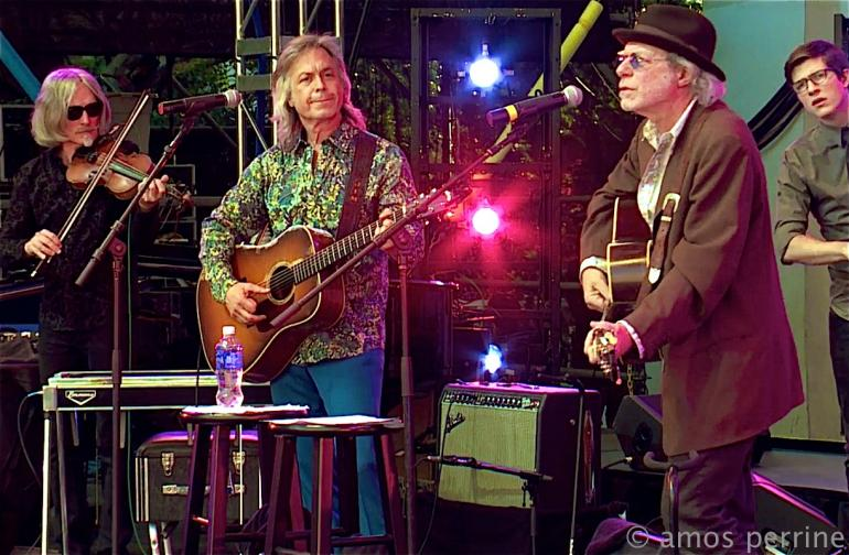 Buddy Miller and Jim Lauderdale, Lincoln Center, New York, August 9, 2014