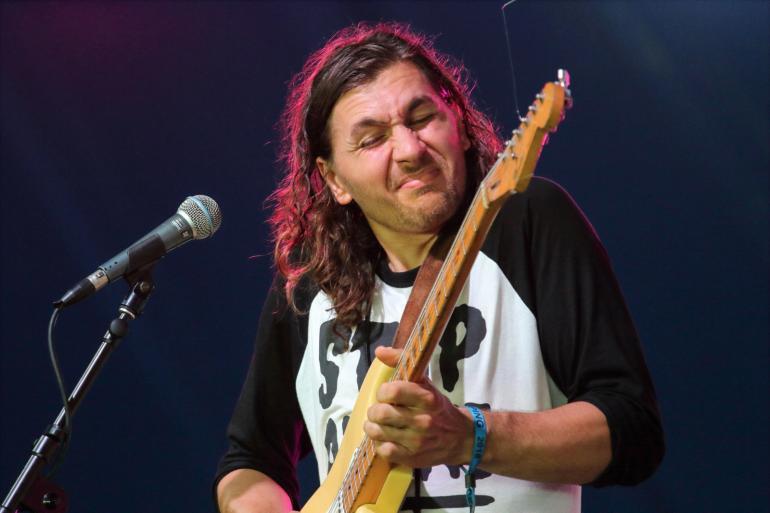 Sam Teskey at Bluesfest Byron Bay on April 1st 2018