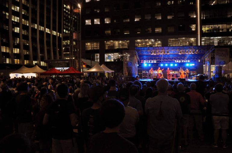 The Travelin' McCourys at IBMA Wide Open Bluegrass 2016