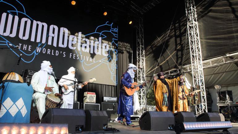 Tinariwen at WOMADelaide, 2018