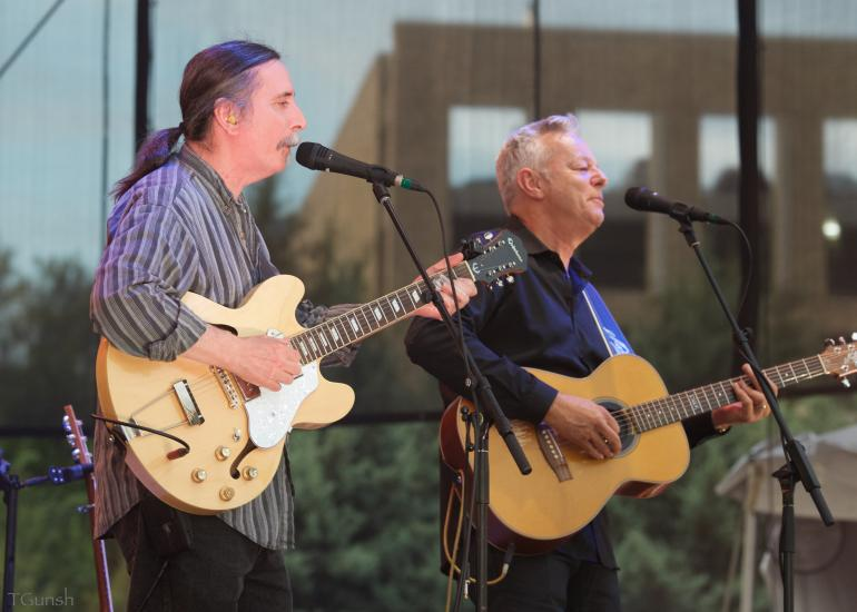Tommy Emmanuel and Jack Pearson