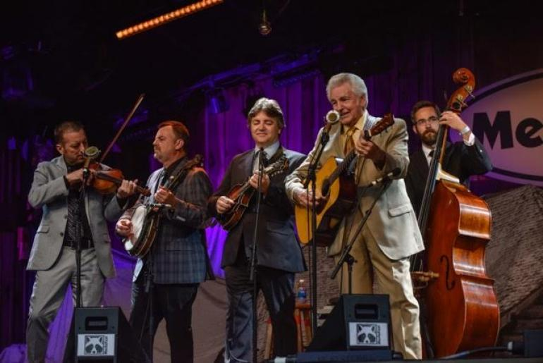 Del McCoury and Band, MerleFest 2017