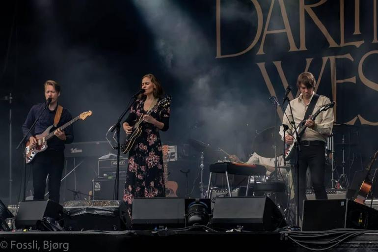Darling West, Canal Street Festival, Arendal, Norway